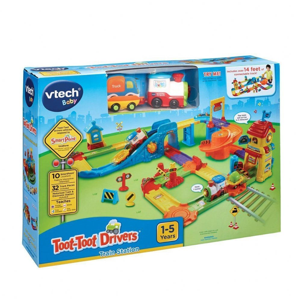 Vtech Baby Toot Toot Drivers Train Station Playset